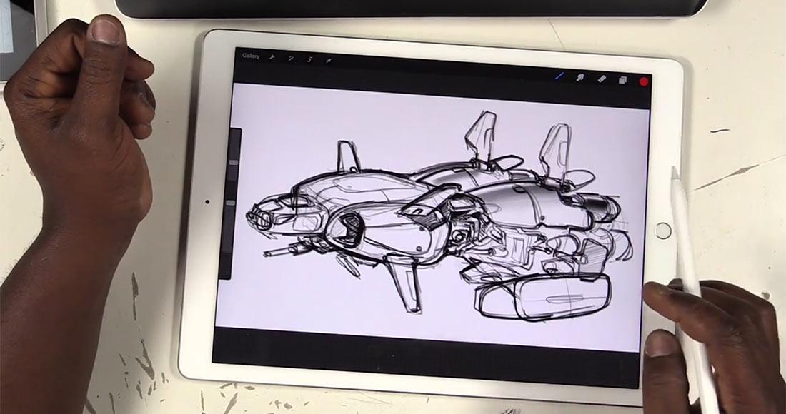 1100x580 Drawing Tablets Head To Head Ipad Propencil Vs. Surface Pro Vs
