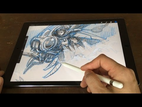480x360 Ipad Pro 12.9 Amp Pencil Artist Review (Vs Cintiq Companion)