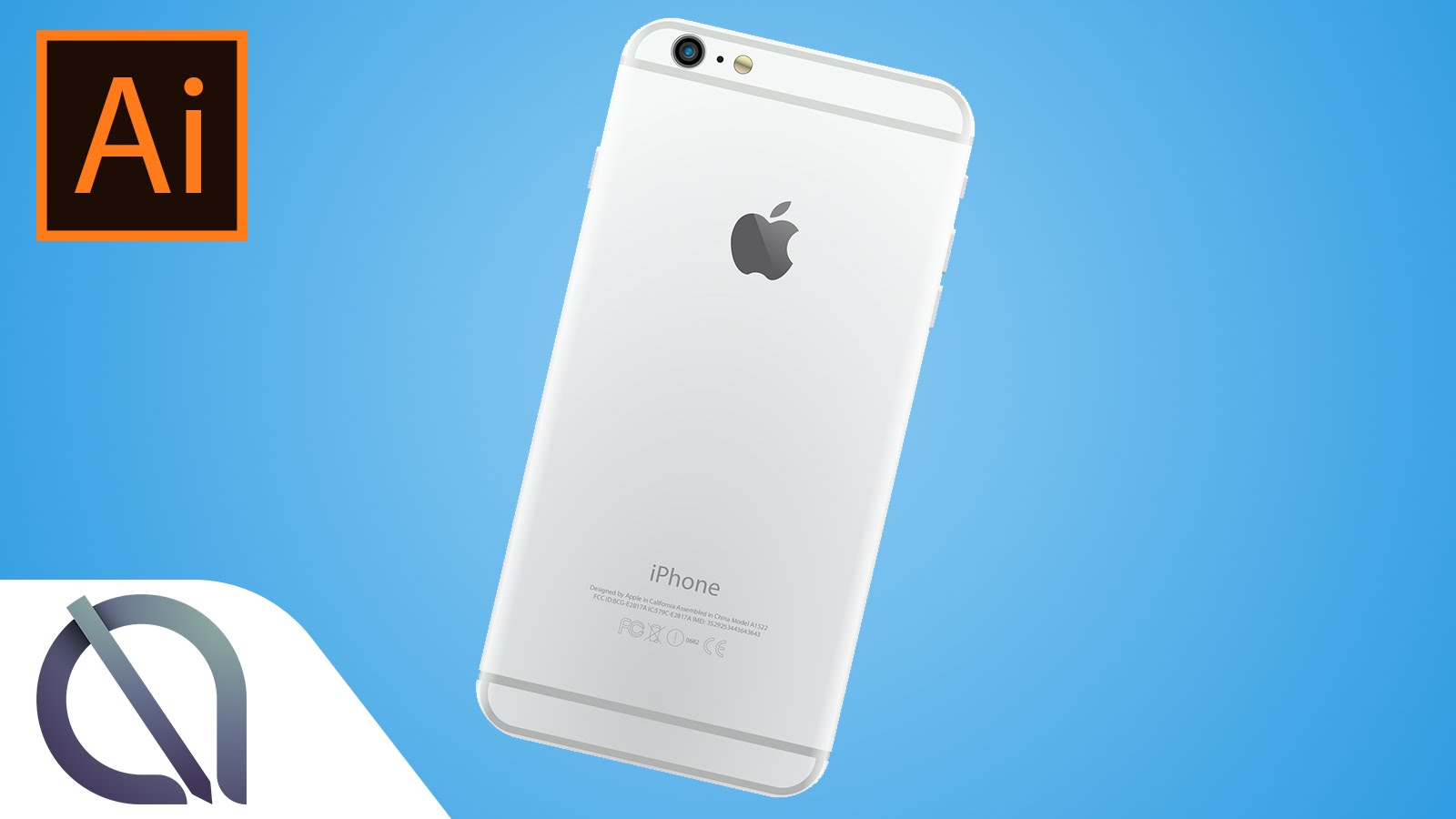 1600x900 How To Make Iphone 6 Plus Vector Drawing