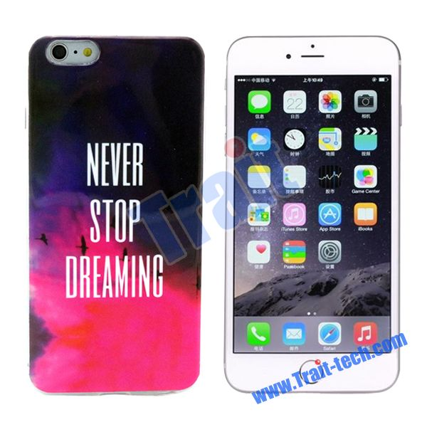 600x600 Colored Drawing Imd Craft Soft Tpu Case For Iphone 6 Plus 6s Plus