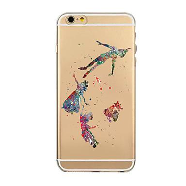 384x384 Coloured Drawing Or Pattern Tpu Transparent Soft Shell Phone Case