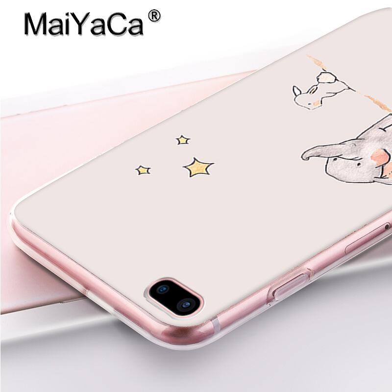 800x800 Maiyaca Adorable Colored Drawing Hard Back Phone Accessories