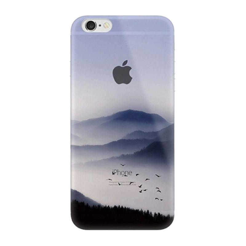 800x800 The Scenery For Apple Iphone 8 8 Plus 7 Plus 6s Silicone Coloured