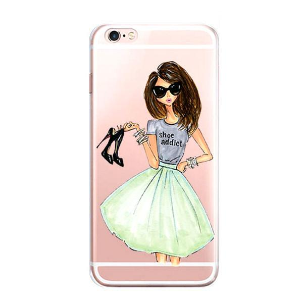 600x600 Iphone 7 Case Iphone7 Illustration Sketch Art Protective Cover