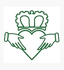 210x230 Claddagh Drawing Photographic Prints Redbubble