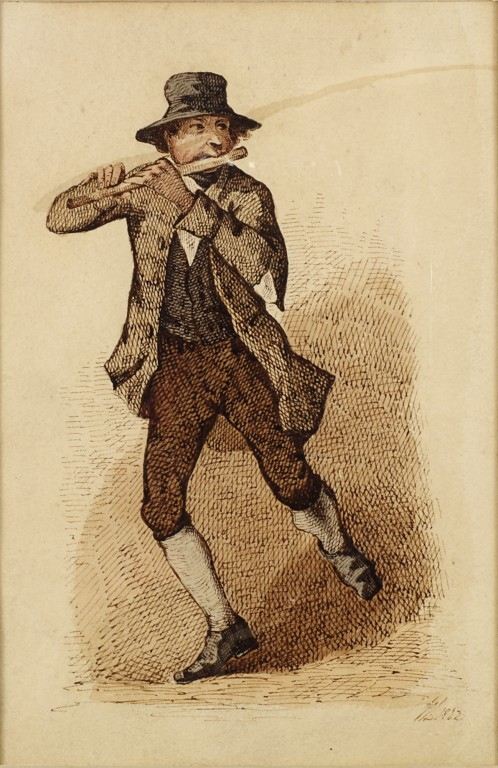 498x768 An Irish Flute Player Dancing A Jig Low, William Vampa Search