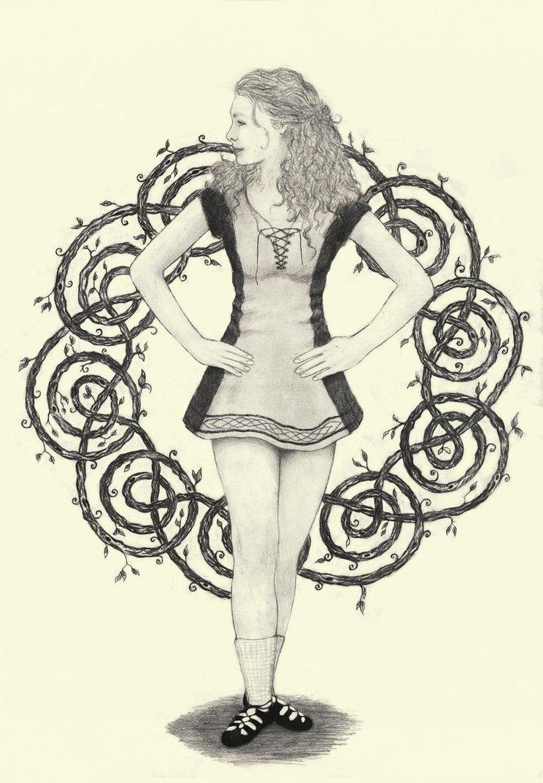 744x1073 Irish Dancer! D By Ilmarinenkowal