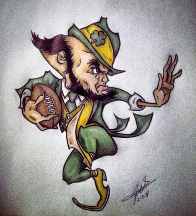 654x720 53 Best Irish Images On Notre Dame Football, Fighting