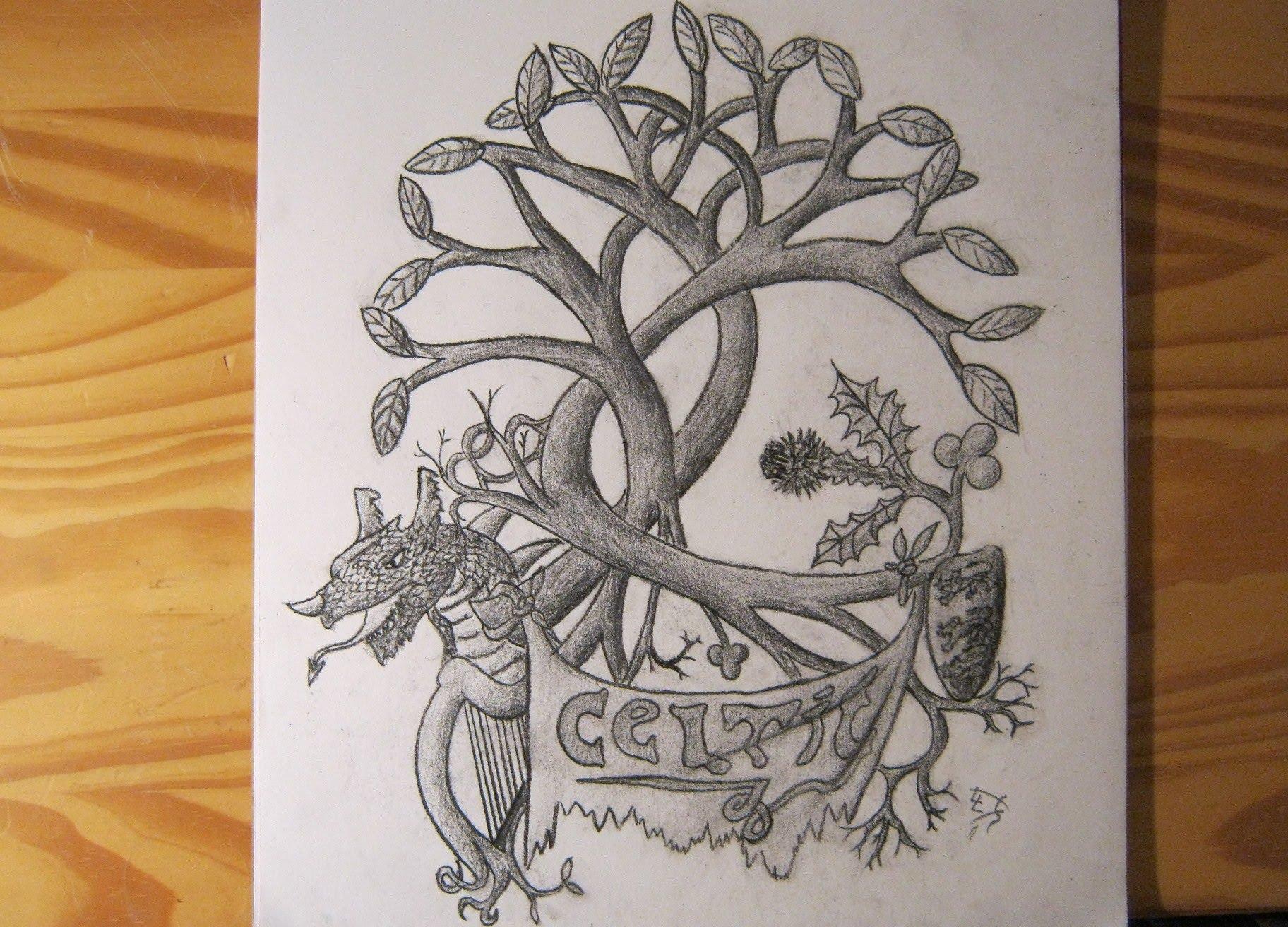 1824x1312 Celtic (Tattoo) Design