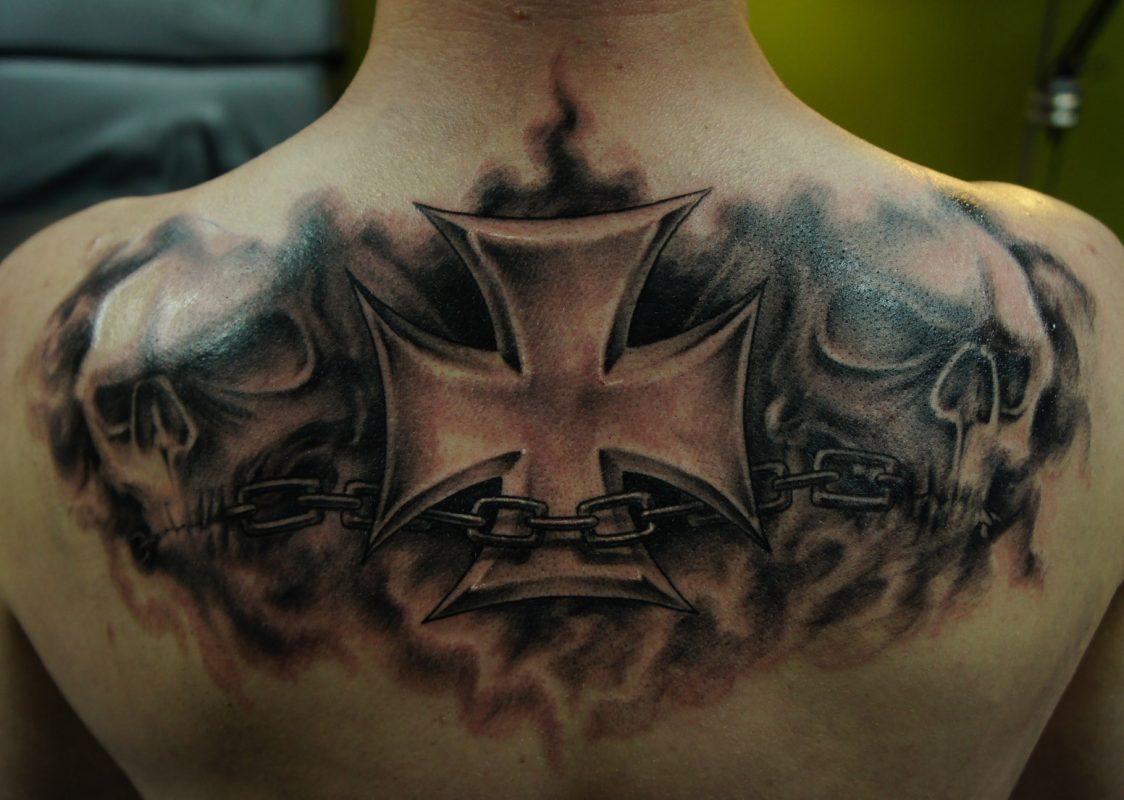 1124x800 63 Gorgeous Cross Tattoo Designs Tattoozza