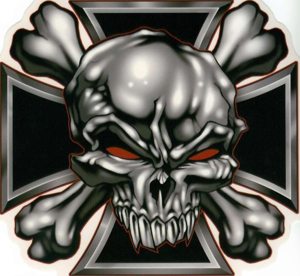 1024x941 Skull Iron Cross Tattoo