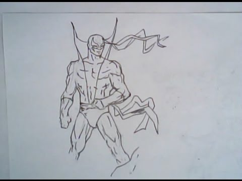 480x360 How To Draw Iron Fist (Drawing, Ep 210)