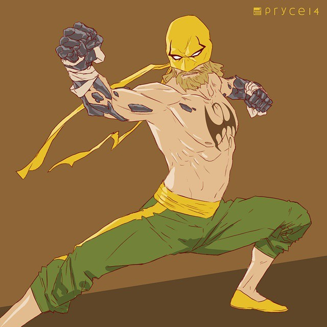 640x640 Jamal Campbell Had The Itch To Draw A Torso, So Here's Iron Fist