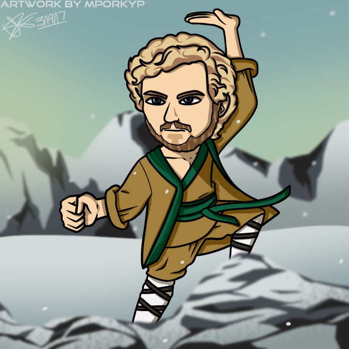 700x700 Our Favorite Netflix Iron Fist Fan Art Illustrations Savvy Falcon