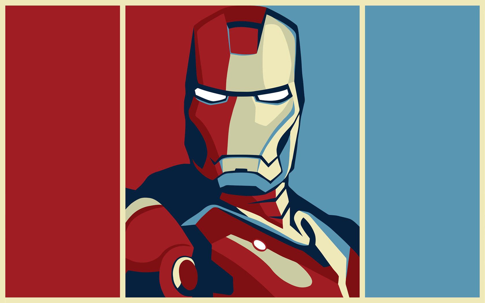 1680x1050 Iron Man Drawing Art Wallpapers