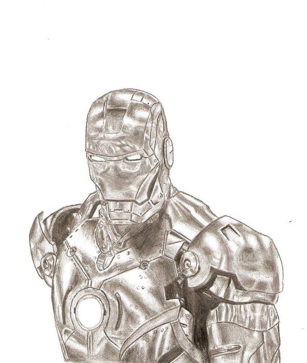 600x709 Iron Man Mark 2 By Piarri