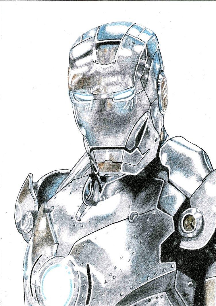 752x1063 Iron Man Mark Ii By Galbatore
