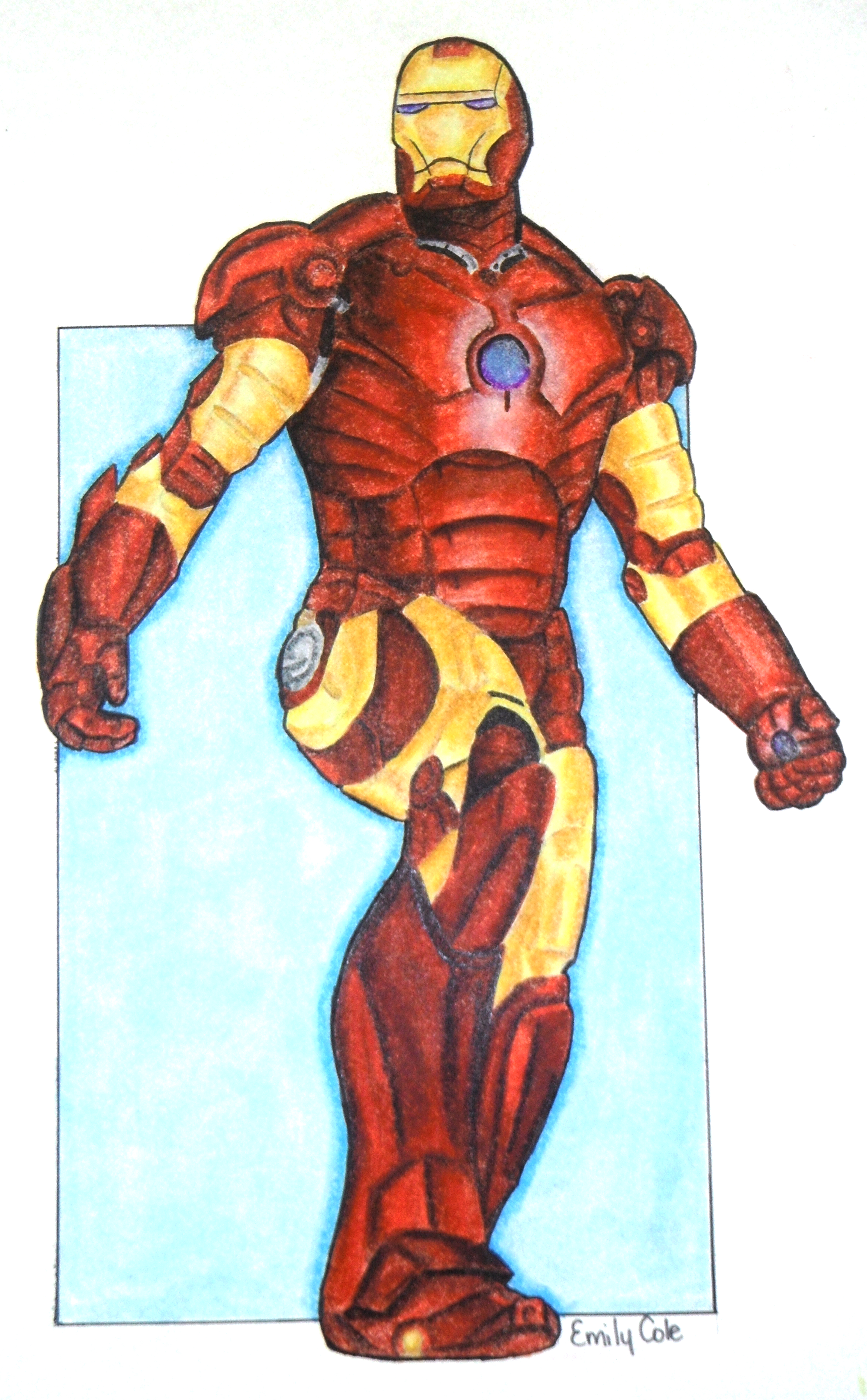 Iron man cartoon drawing at free for - Iron man cartoon wallpaper ...