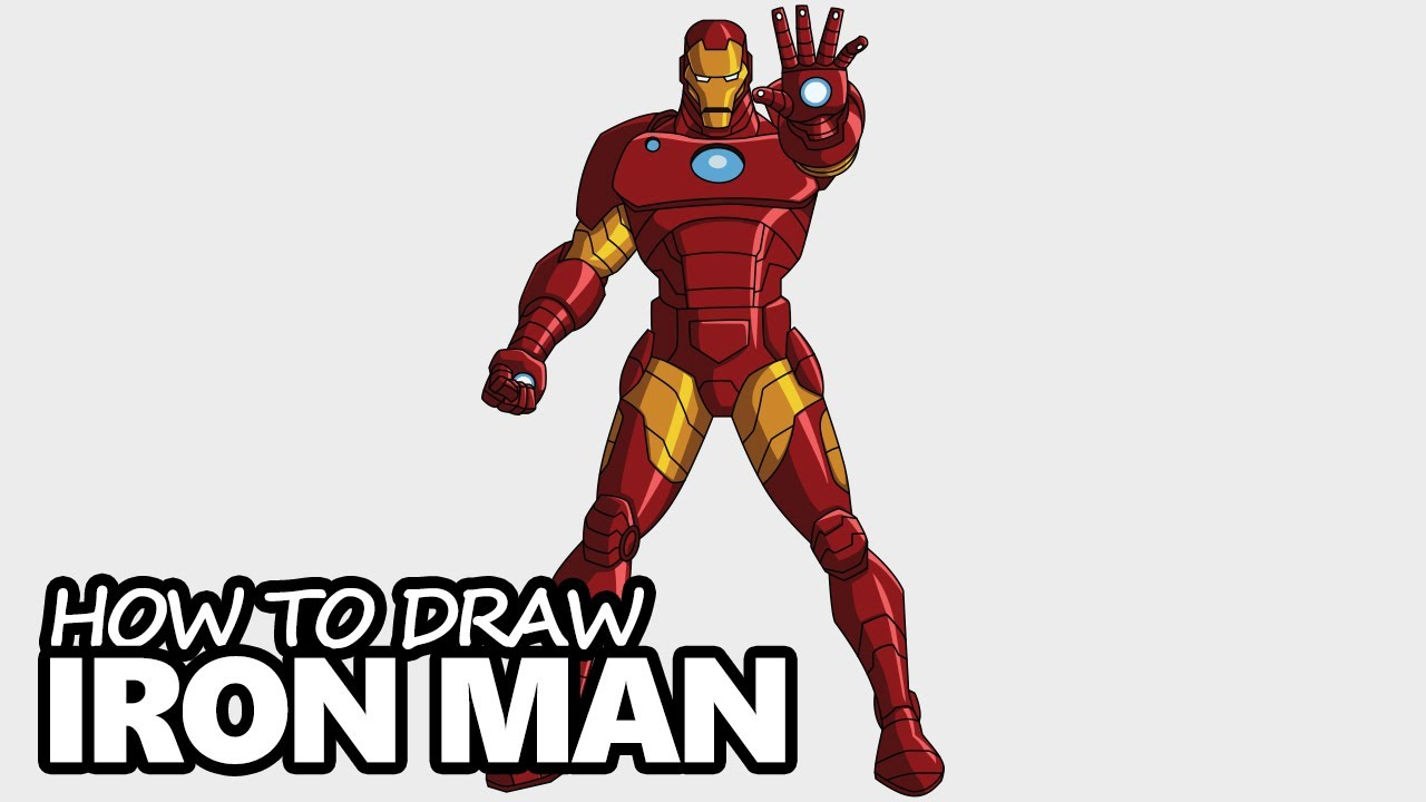 1280x720 How To Draw Iron Man