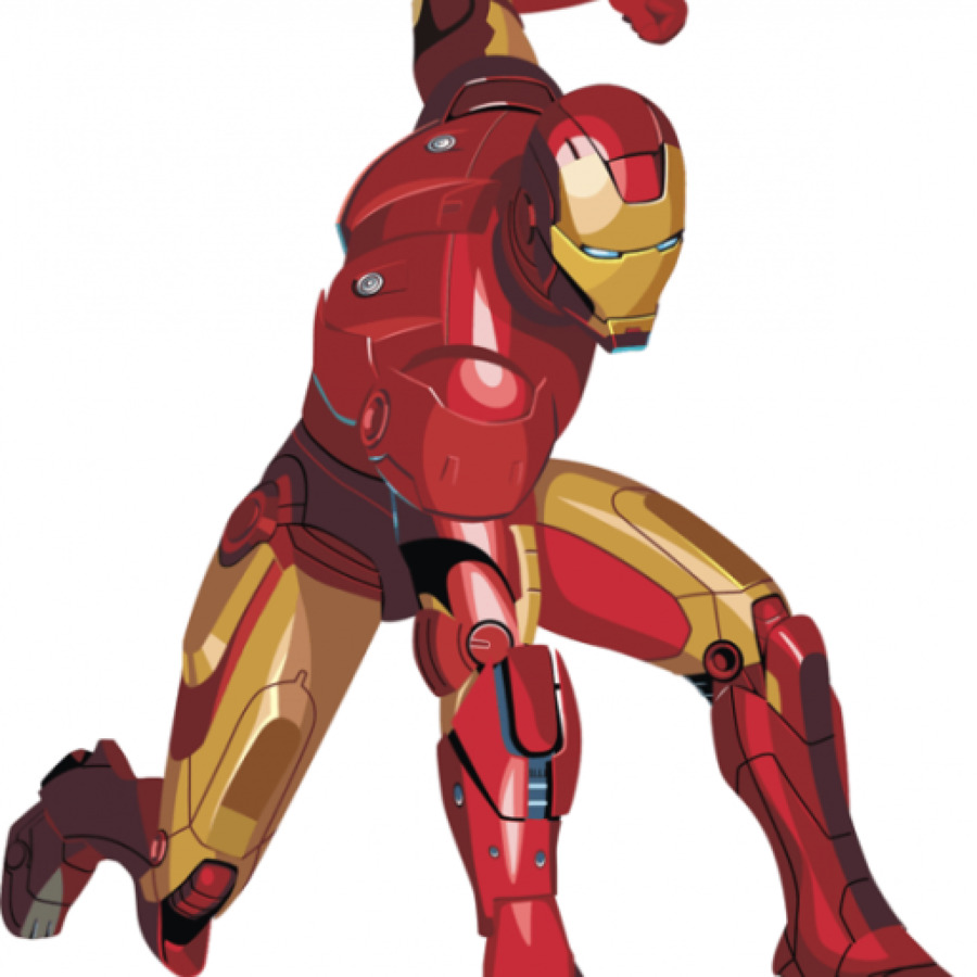 900x900 Iron Man Drawing Superhero Cartoon How