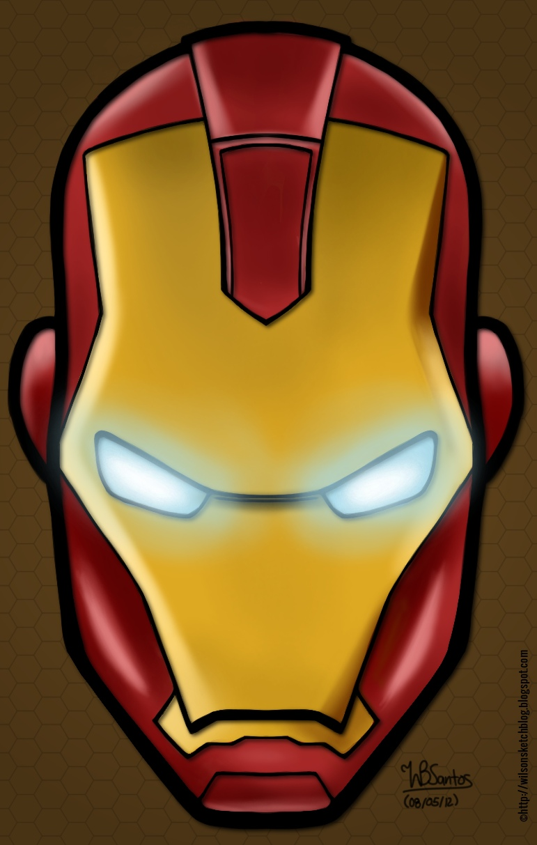 Easy Iron 25 Mg: Iron Man Easy Drawing At GetDrawings.com