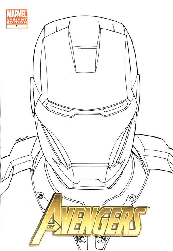 600x868 Iron Man Head Sketch Nycc By Robertatkins