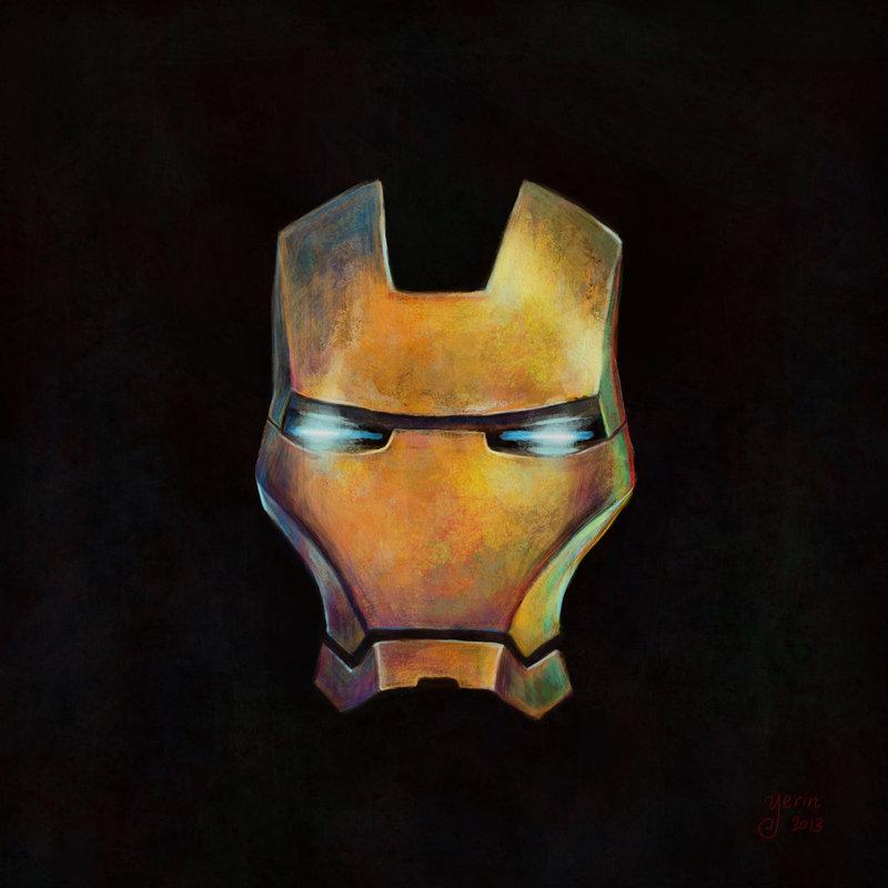 800x800 Ironman Mask By Slugette