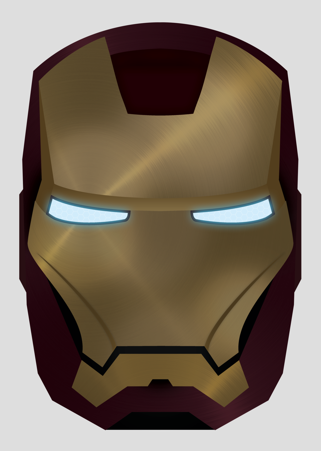 Iron Man Mask Drawing At Getdrawings Free For Personal Use