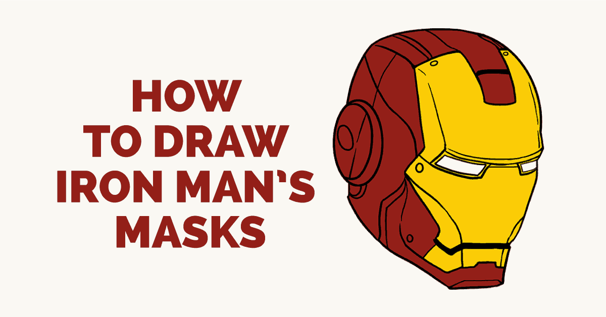 1200x628 How To Draw Iron Man In A Few Easy Steps Easy Drawing Guides