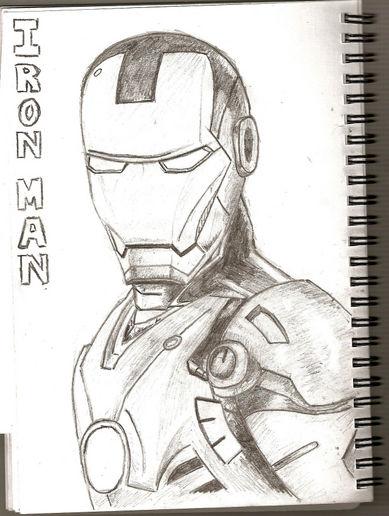 389x516 Iron Man Drawing,