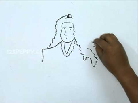 480x360 How To Draw Sir Isaac Newton