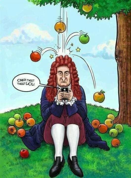 531x720 If Sir Isaac Newton Had A Smartphone Phil Ebersole's Blog
