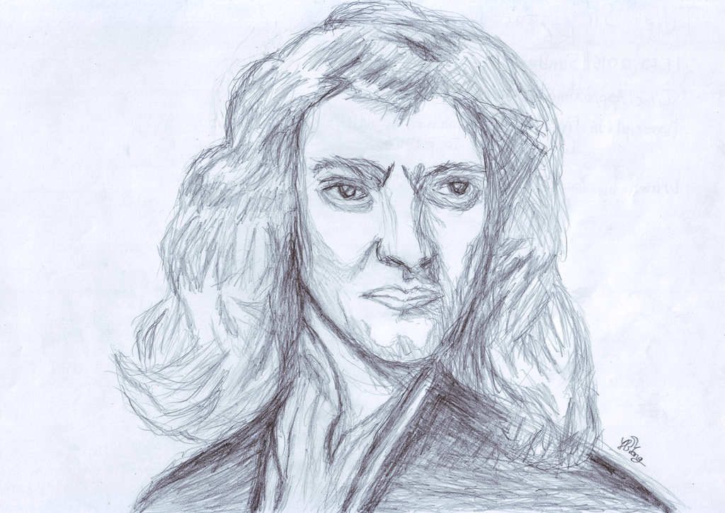1024x724 Sir Isaac Newton (The Last Magician) By Ybypro