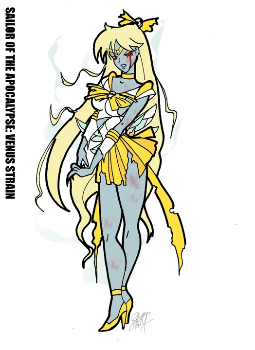 524x720 Sailor Venus Horseman Of Apocalypse Pestilence By Jokerisdaking