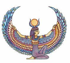 236x211 Isis Goddess Drawing