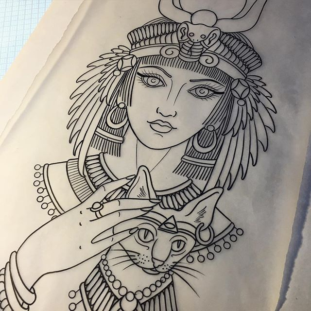 640x640 Mulpix Drawing For A Tattoo Started Today. Egyptian Goddess Isis
