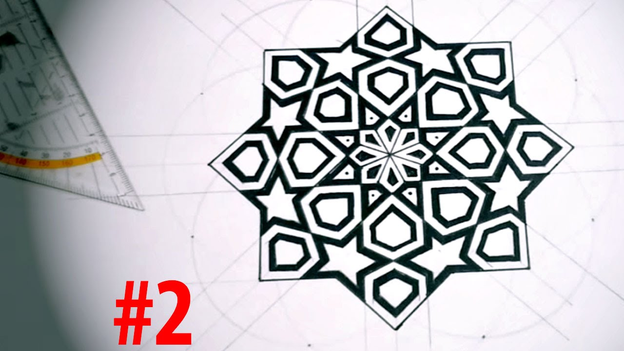 1280x720 How To Draw Islamic Art