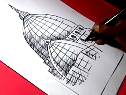 480x360 How To Draw Muslim Masjid Drawing Step By Step For Kids