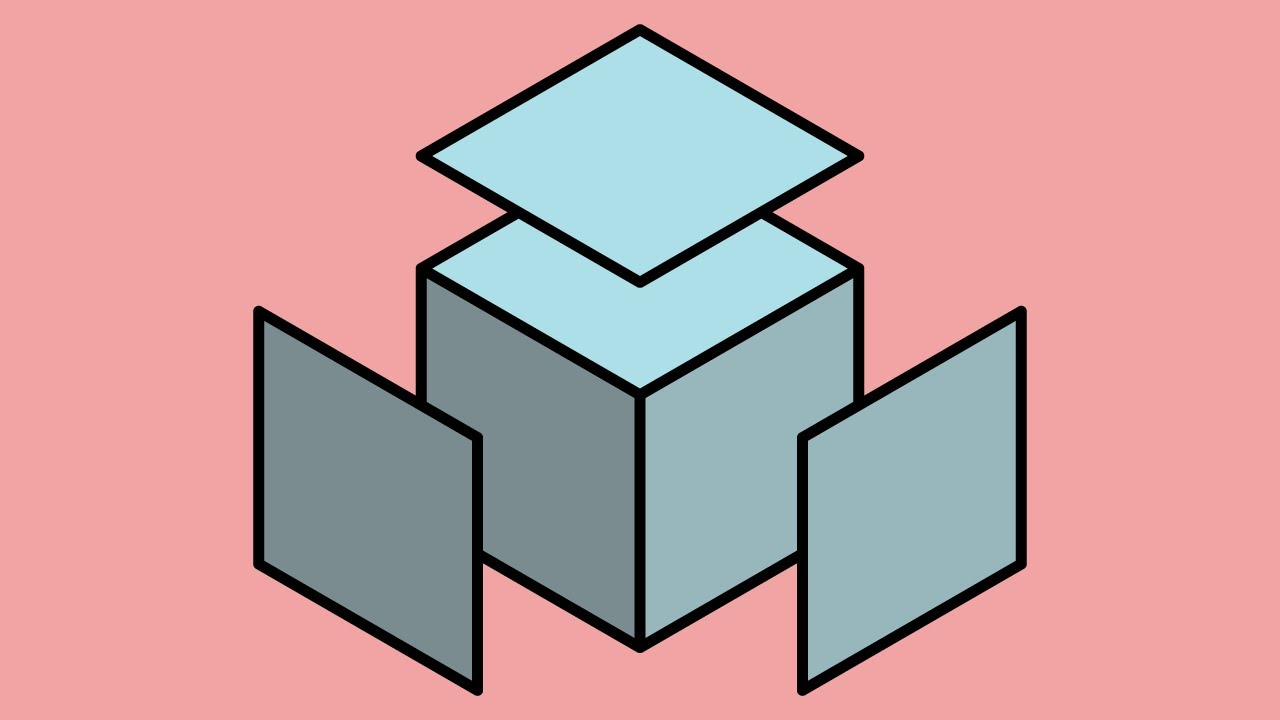 1280x720 How To Instantly Draw An Isometric Cube