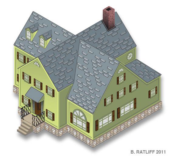 560x513 Chemical9 Isometric House
