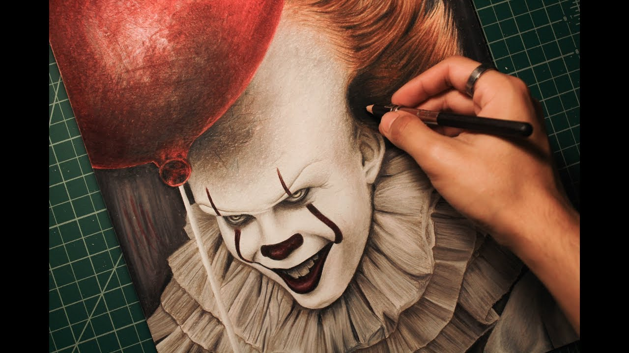 1280x720 Drawing It Pennywise