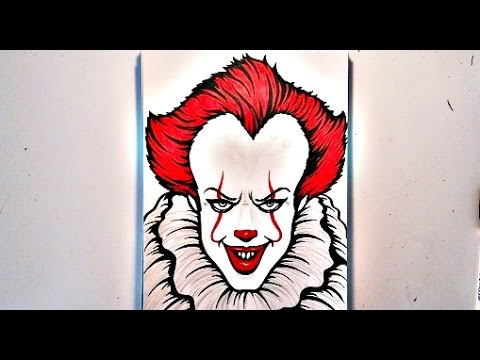 480x360 How To Draw Pennywise