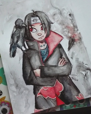 320x400 Itachi Drawings On Paigeeworld. Pictures Of Itachi