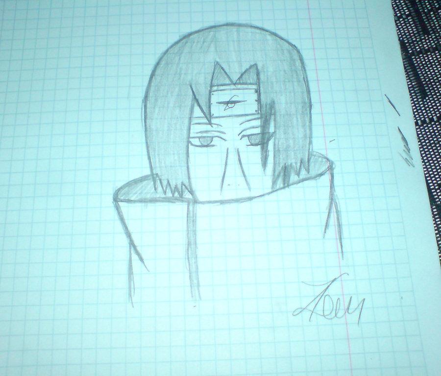 900x768 Itachi Uchiha Draw By Dartirevi