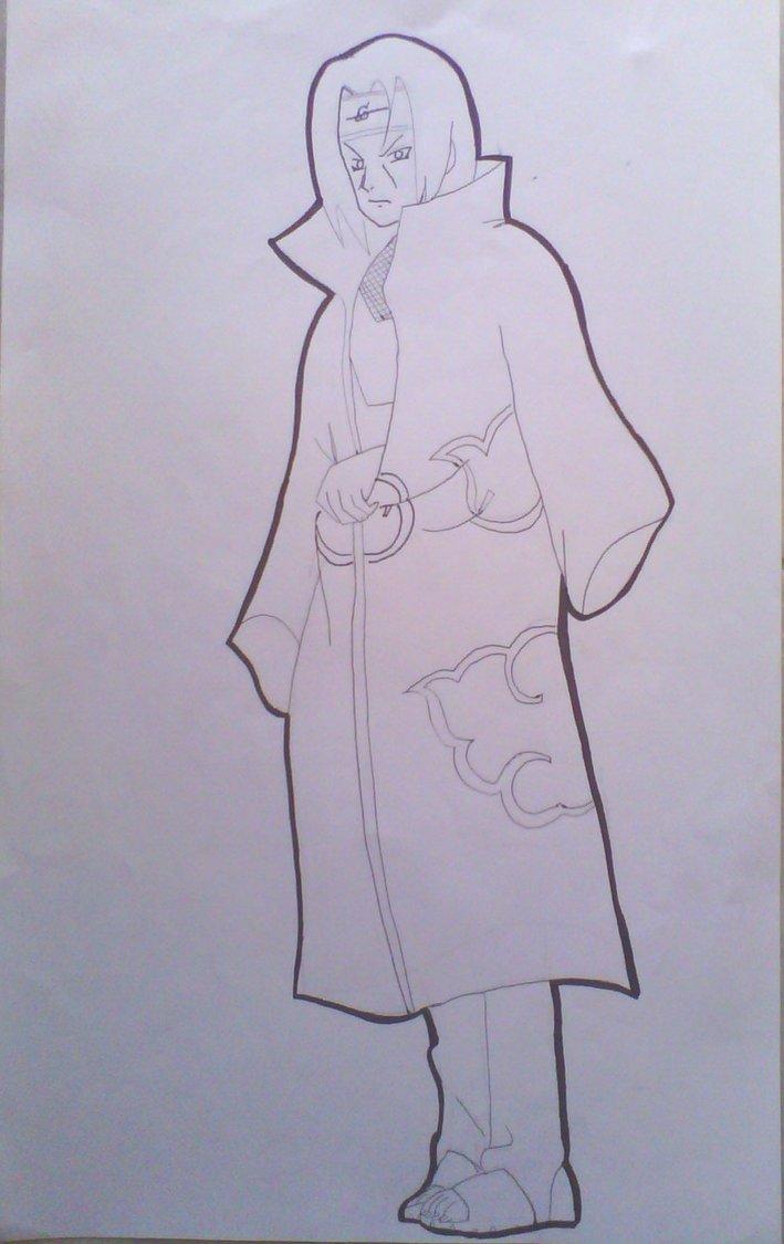 709x1125 Itachi Uchiha Drawing Lineart By Krizeii
