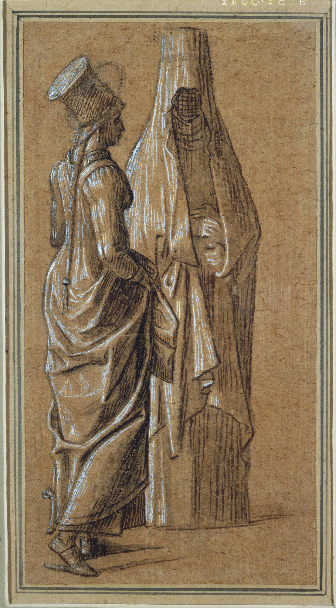 1107x2000 In Depth 500 Years Of Italian Master Drawings From The Princeton