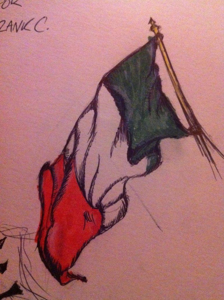 772x1034 Italian Flag By Flashhhthunderrr