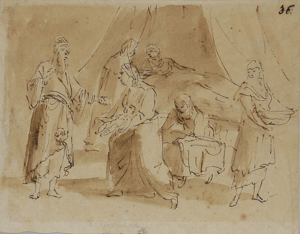 600x467 Old Master Drawings 16th Century Italian Drawings