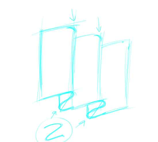 550x495 How To Draw A Flag Step 3.jpg
