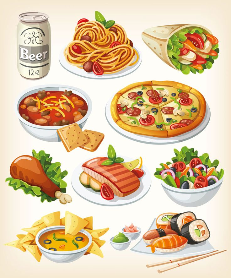 736x885 Drawn Food Yummy